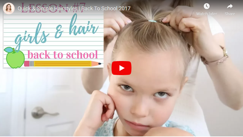 Simple Hairstyles for Little Girls