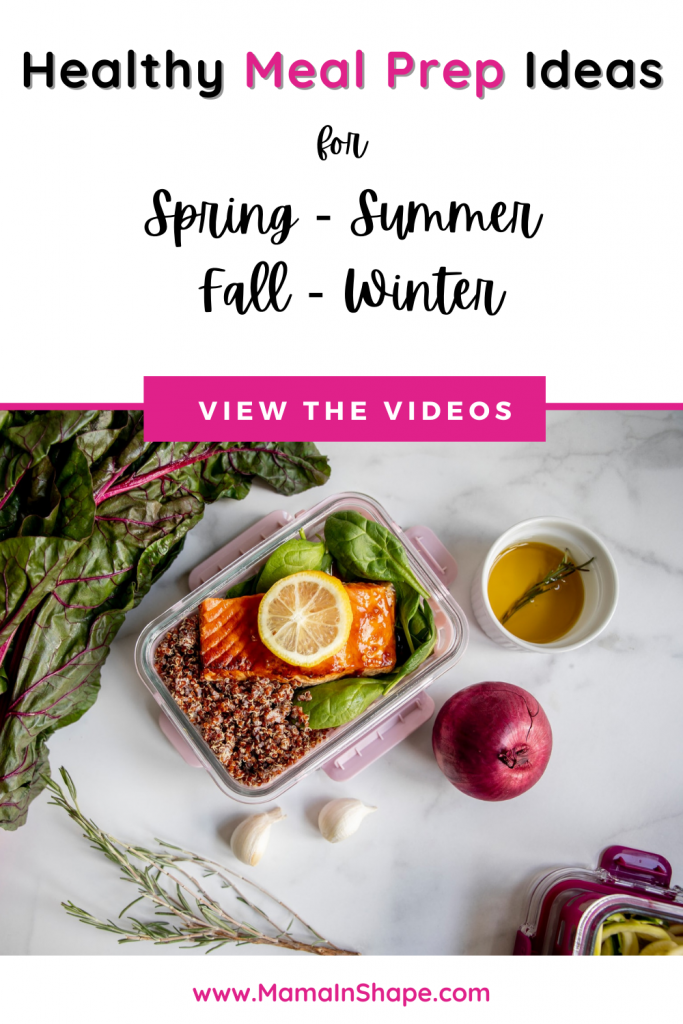 Healthy Meal Prep Ideas for Spring, Summer, Fall, and Winter
