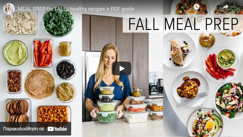 Healthy Meal Prep Ideas for Fall