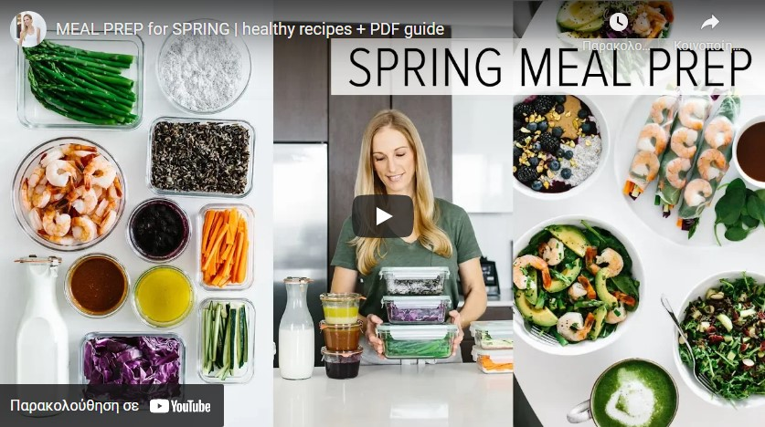 Healthy Meal Prep Ideas for Spring