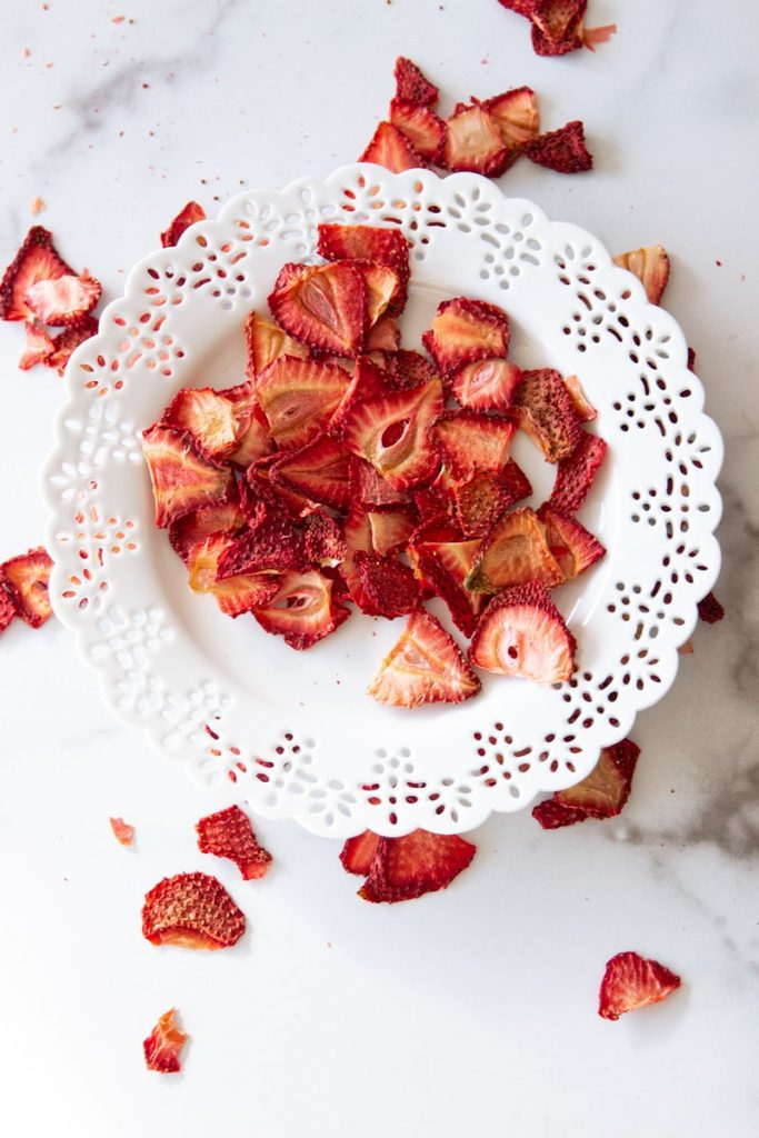Healthy Homemade Chips strawberry