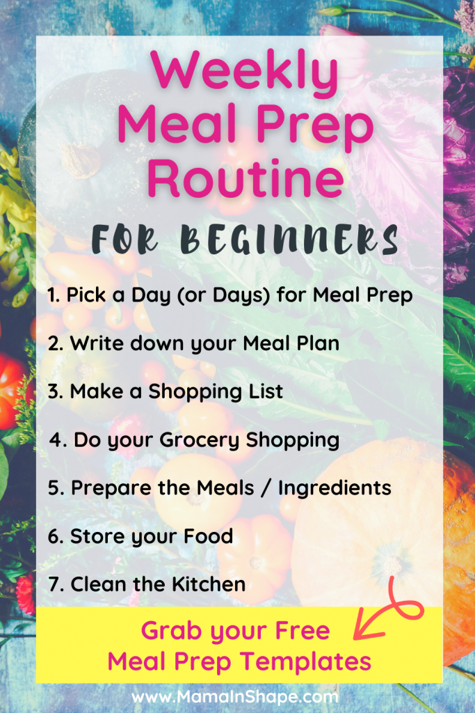 Weekly Meal Prep Routine for Beginners