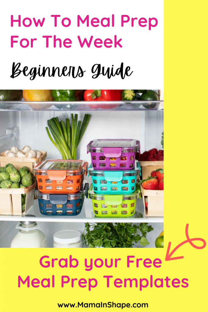 How to Meal Prep for the Week - For Beginners